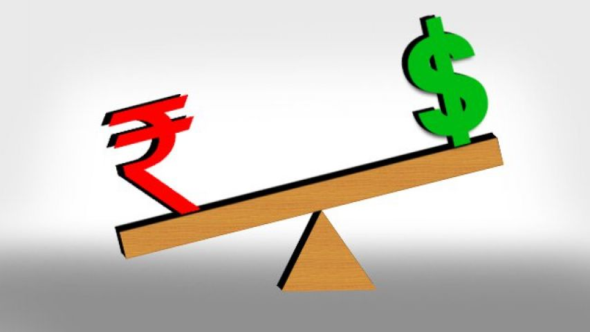 Rupees fall down by 10 paise against dollars, in early trade