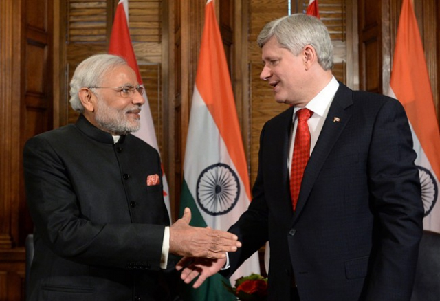 कनाडा-भारत परमाणु सहयोग समझौता पर हुए हस्ताक्षर