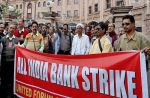 Today;Bank employees go on a full day strike