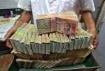 Rupee edges up 8 paise against USD