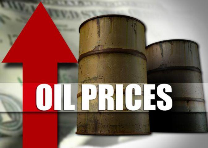 कच्चे तेल की कीमतों में बढ़ोत्तरी