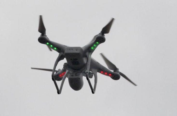 ड्रोन के कारण लेट हुई 55 फ्लाइट