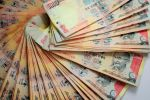 Rupee edged up 4 paise against USD
