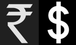 Rupee is trading higher in early trade today !