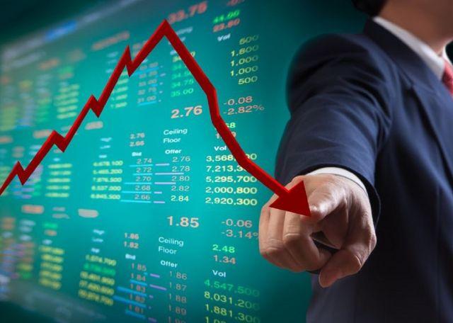 शेयर मार्केट में भारी गिरावट का दौर