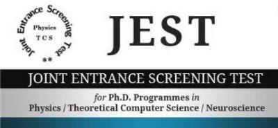 JEST 2020 के लिए आवेदन जारी जल्द करें आवेदन