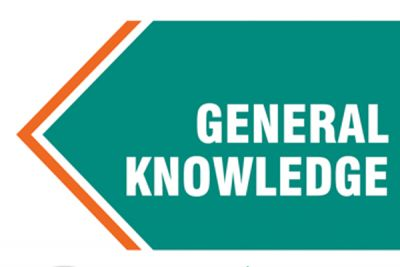 General Knowledge: These important questions are important in terms of competitive exams.