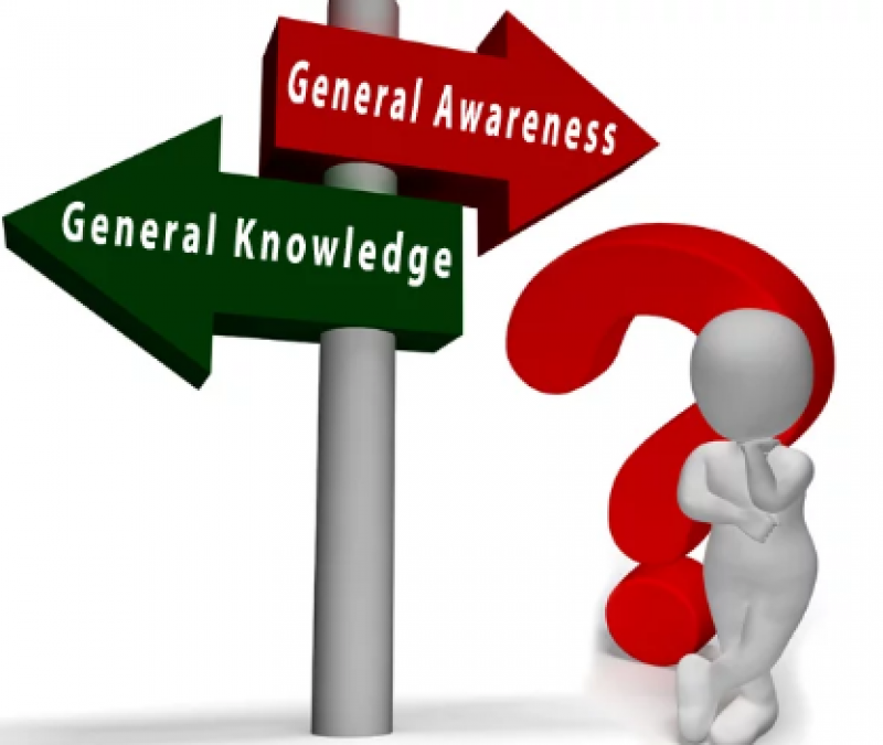 Take a look at these important questions of 'general knowledge'