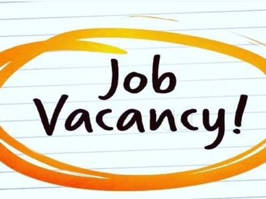 Job Opening for the Assistant Professor's Positions, Will Get Attractive Salary