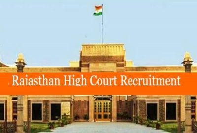 Rajasthan High Court Giving Jobs, apply as early as possible!