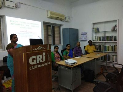 Job opening on the posts of Technical Assistant at GRI Chennai, this is the selection process