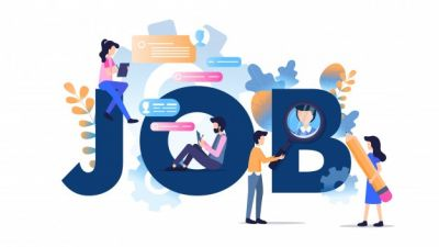 Job opening for the post of computer operator, salary Rs. 20000