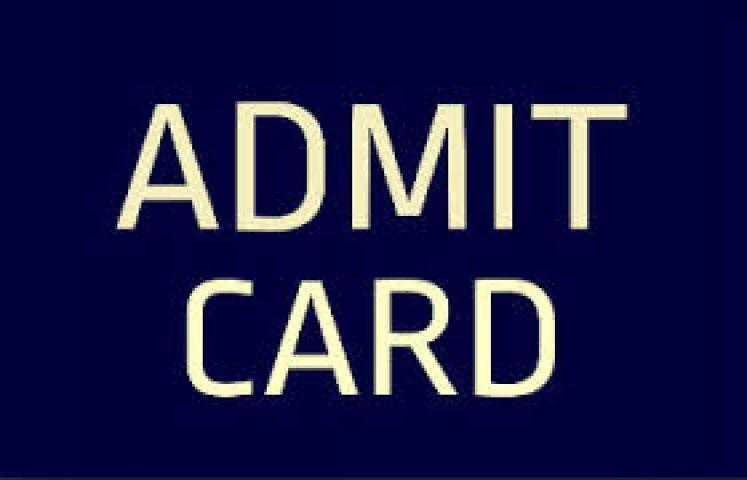 HTET Level 3 2014-2015 (PGT), admit card out