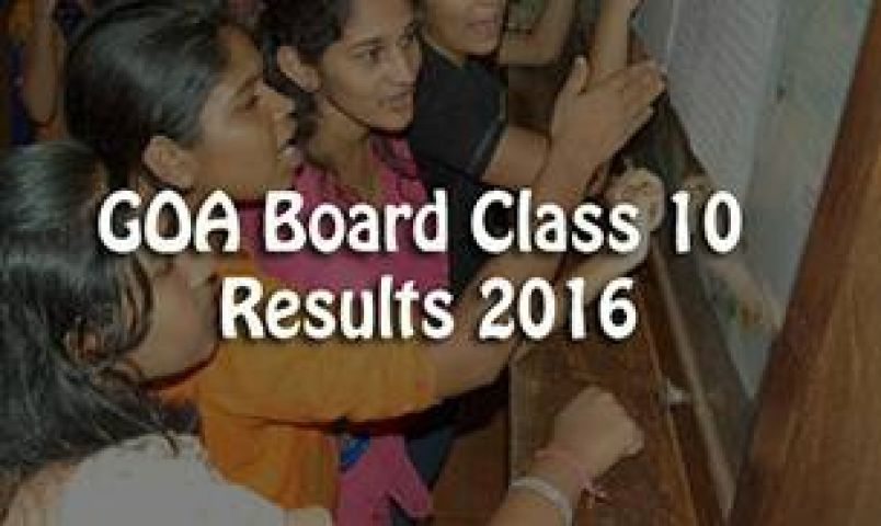 Goa Board Class 10 Results expected tomorrow at 3 pm