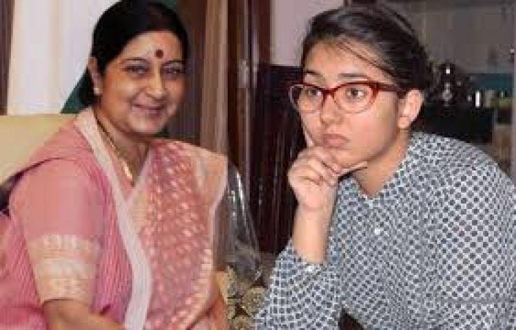 Sushma Swaraj assured medical seat for Mashal in Karnataka
