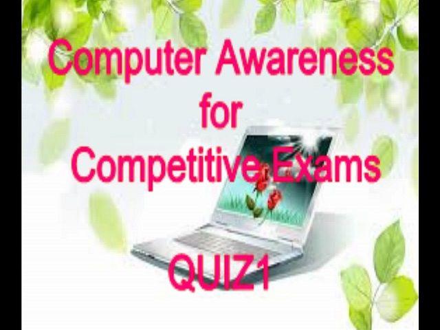प्रतियोगी परीक्षाओ के लिए उपयोगी कंप्यूटर ज्ञान