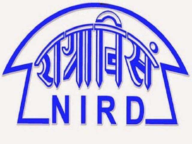 NIRD में बहुत से पदों पर होगी भर्ती जल्द ही करें आवेदन