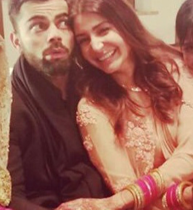 See beautiful pictures of newly wedded couple Virushkha 1