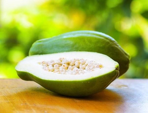 Period irregularities for papaya Irregular periods: