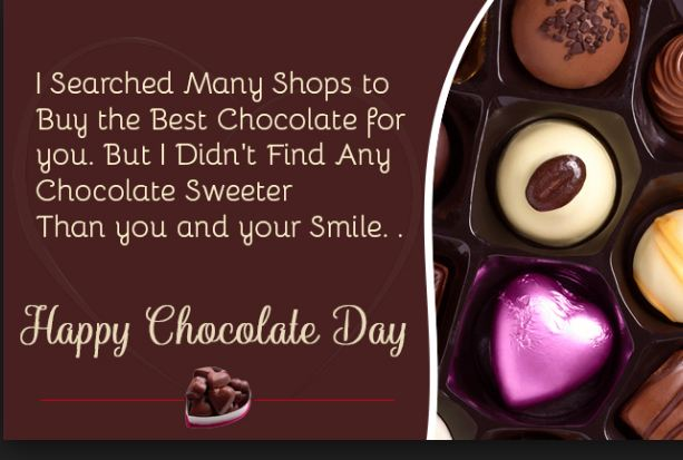 chocolate day special messages and quotes for husband and