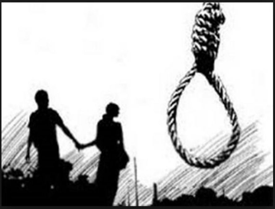 Bodies of a boy and a girl found hanging from a tree in Karnataka; murder or suicide