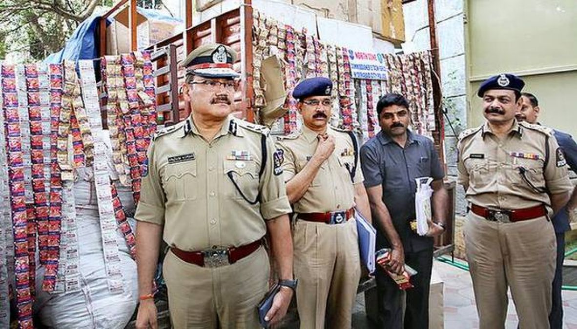 Police seize chewing tobacco worth Rs 1.43 crore in Hyderabad