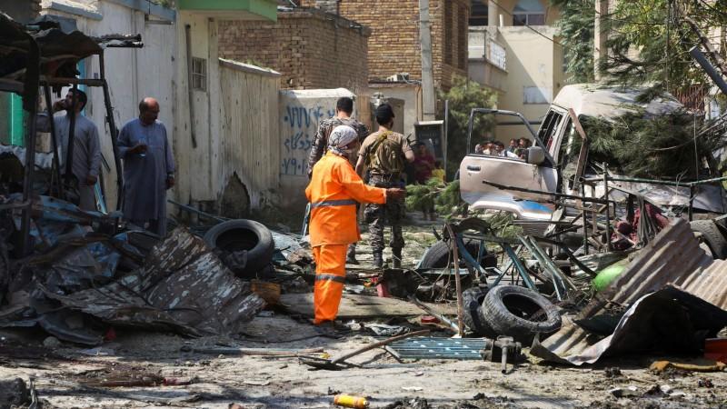 आत्मघाती बम हमले में गई 26 सुरक्षाकर्मियों की जान