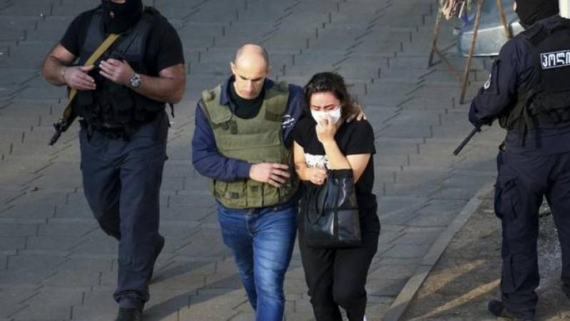 एक व्यक्ति ने बैंक में 40 व्यक्तियों को बना रखा था बंधक, जॉर्जिया पुलिस ने की खोज