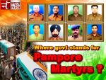 Why sacrifices of jawans are left uncovered?