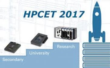 Register for your interested course in 'HPCET 2017'