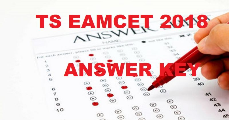 TS EAMCET 2018 answer key released