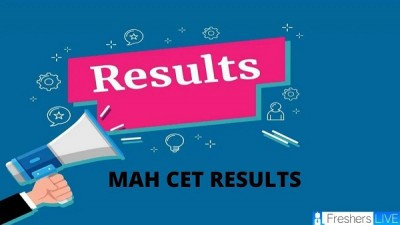 MHT CET announces Result 2020 today, PCB and PCM group