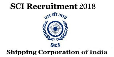 SCI Recruitment 2018: Vacancy for Posts of Trainee Electrical Officer and Electrical