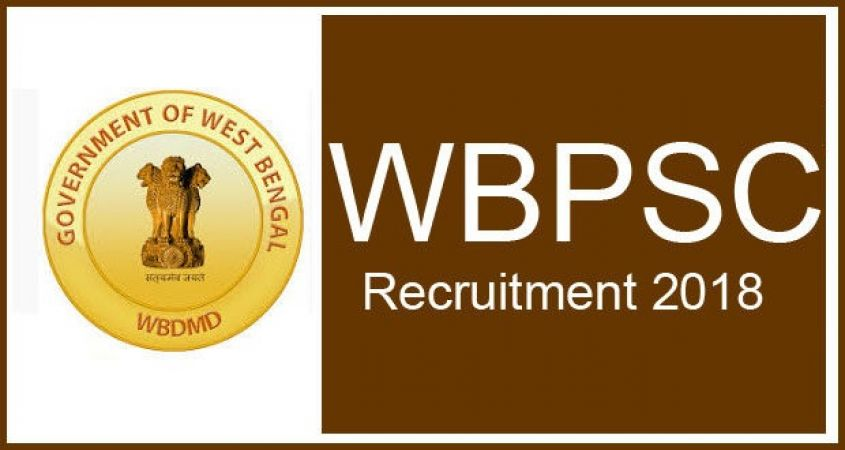 WBPSC Recruitment 2018: Apply soon for the post of SI