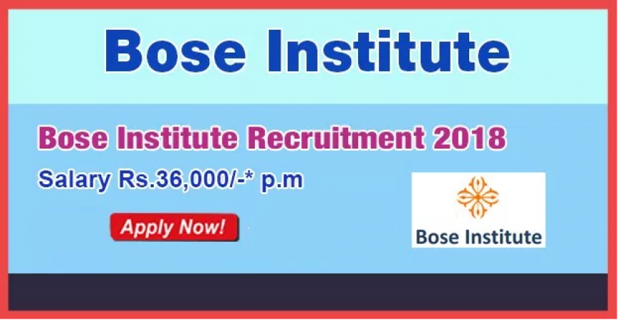 BOSE Institute Recruitment 2018: Vacancy for Mechanic Positions