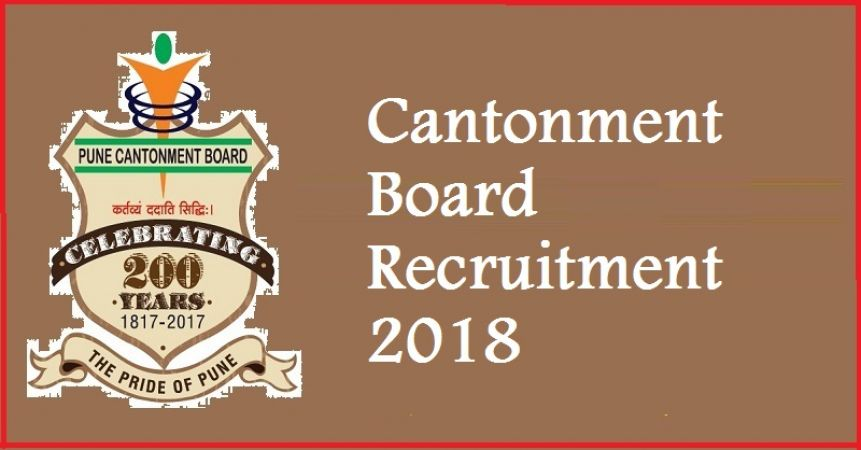Cantonment Board Recruitment 2018: Apply Soon for Posts of the Junior Clerk
