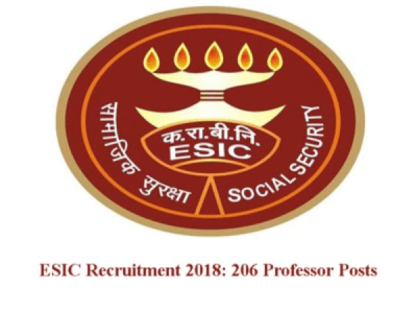 Great chance for the Pharmacist to join Employees State Insurance Corporation