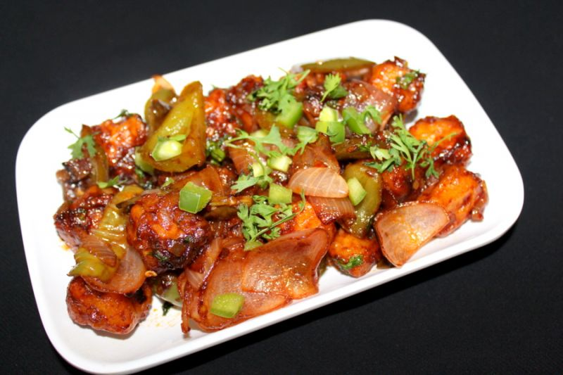 Make delicious Chilli Paneer at home with this easy recipe