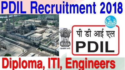 PDIL Recruitment 2018: vacancies for Engineers, Apply Soon
