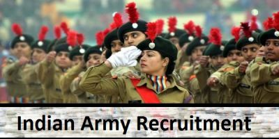 Hurry! Vacancy for NCC Men And NCC Women's Jobs In Indian Army Empty