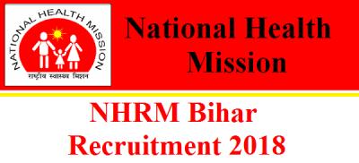 NRHM Bihar Recruitment 2018: 408 Vacancies for the Posts of Specialist Doctor