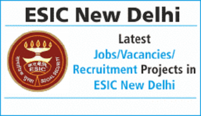 ESIC Delhi Recruitment 2018: Vacancy for Senior Resident Posts