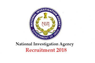 NIA Recruitment 2018: Hurry! Limited Vacancy for the Additional SP Post