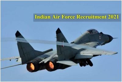 IAF Recruitment 2021: Vacancies released for AFCAT-2