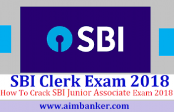 SBI clerk (junior associates) examination major event date list