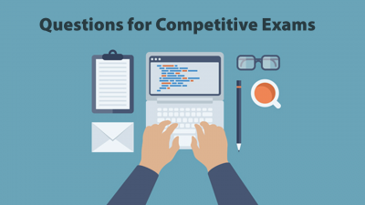 Prepare for your competitive exams with these questions
