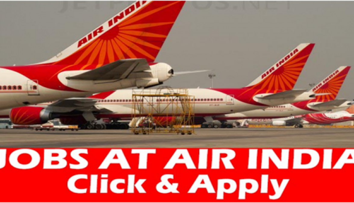 Air India Recruitment 2019, Apply for Co-Pilot Posts
