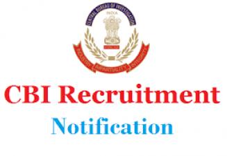 CBI Recruitment 2018: Vacancies for Inspector