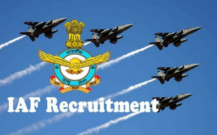 Apply for the job vacancy in Indian Air Force