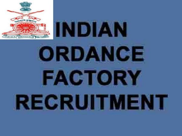 Apply for the job in  INDIAN ORDNANCE FACTORY